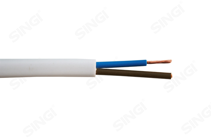RVVB扁型铜导体聚氯乙烯绝缘聚氯乙烯护套软电线