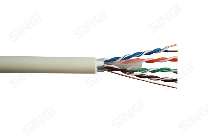 六类4对单屏蔽网络线FTP型