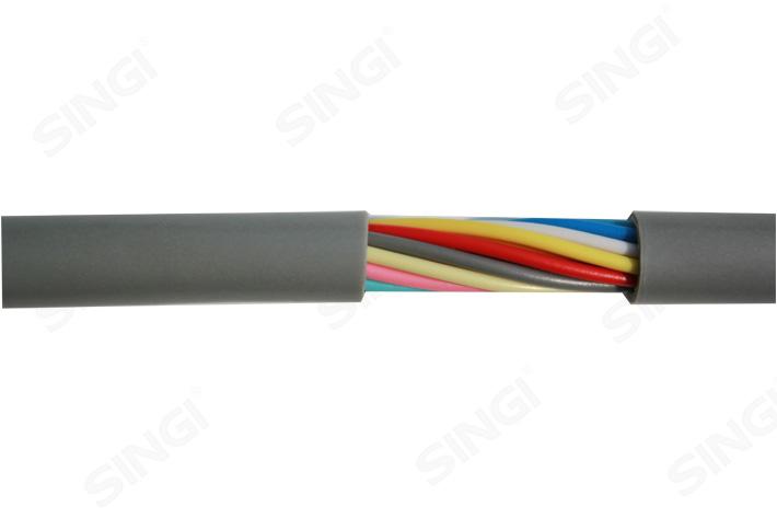 TRVV型高柔性多芯控制线缆