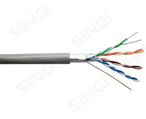 超五类4对单屏蔽网络线FTP型