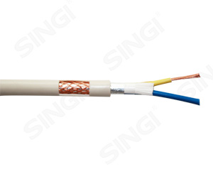 RVVP型铜导体聚氯乙烯绝缘聚氯乙烯护套带屏蔽软电线