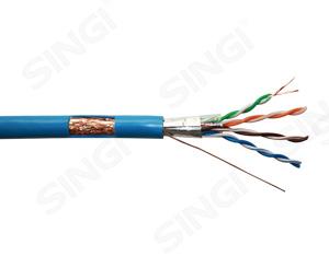 超五类4对双屏蔽网络线 S/FTP型