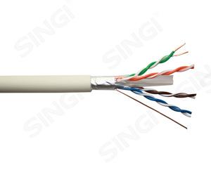 六类4对单屏蔽低烟无卤护套网络线 FTP型