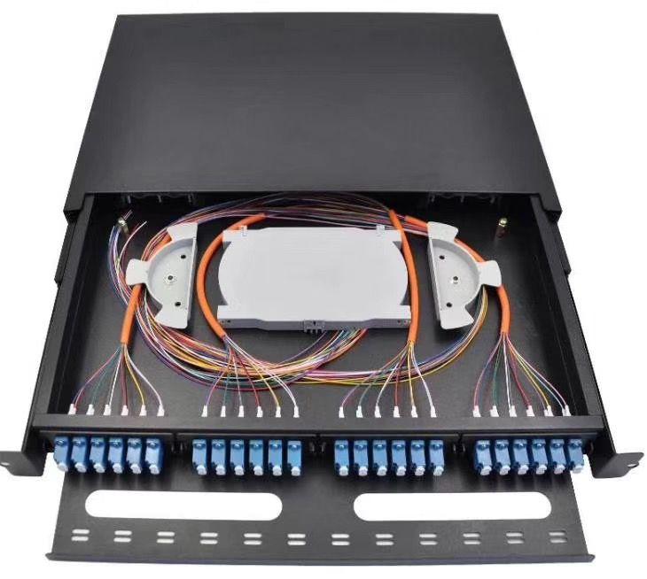 6、12、24口ODF抽拉式光纤配线架